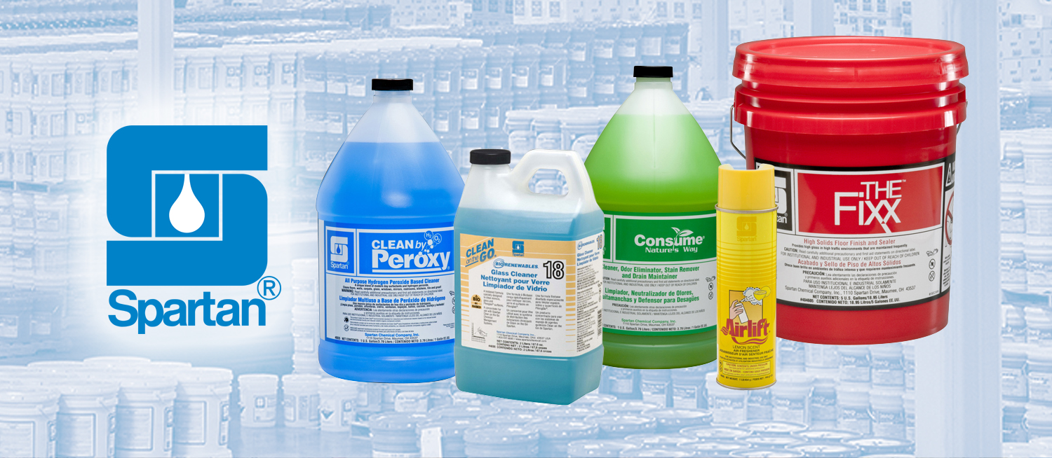 Spartan janitorial supplies
