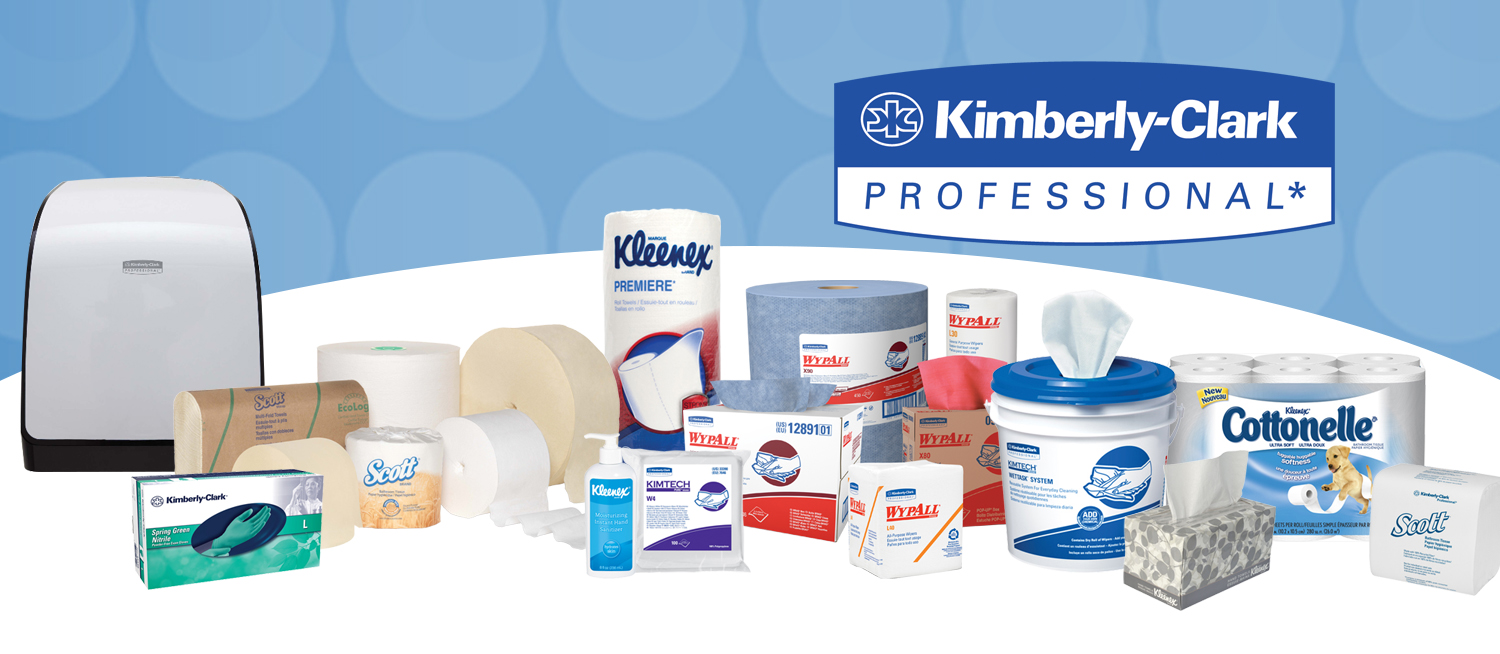 Kimberly-Clark janitorial supplies