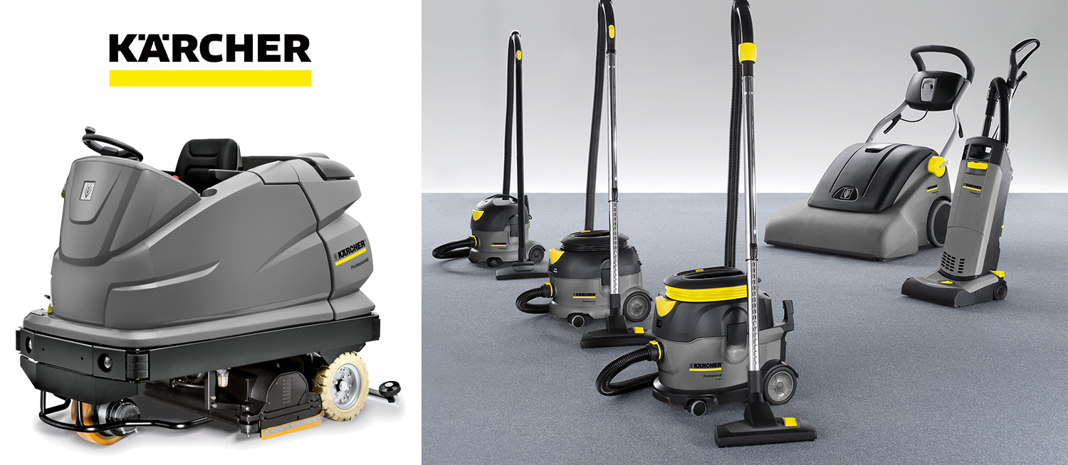 Karcher product line of vacuums